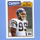 1987 Topps Football #346 Lee Williams RC - San Diego Chargers