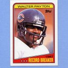 1988 Topps Football #005 Walter Payton RB - Chicago Bears
