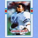 1989 Topps Football #385 Herschel Walker - Dallas Cowboys