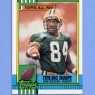 1990 Topps Football #140 Sterling Sharpe - Green Bay Packers