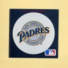 1991 Ultra Baseball Team Logo Stickers San Diego Padres