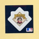1991 Ultra Baseball Team Logo Stickers Pittsburgh Pirates