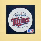 1991 Ultra Baseball Team Logo Stickers Minnesota Twins