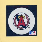 1991 Ultra Baseball Team Logo Stickers California Angels