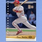 1993 Upper Deck Baseball Home Run Heroes #HR10 Dave Hollins - Philadelphia Phillies