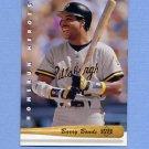 1993 Upper Deck Baseball Home Run Heroes #HR06 Barry Bonds - Pittsburgh Pirates