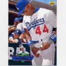 1993 Upper Deck Baseball On Deck #D23 Darryl Strawberry - Los Angeles Dodgers