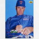 1993 Upper Deck Baseball On Deck #D20 Nolan Ryan - Texas Rangers