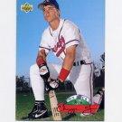 1993 Upper Deck Baseball On Deck #D16 Chipper Jones - Atlanta Braves