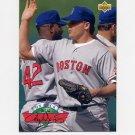 1993 Upper Deck Baseball On Deck #D09 Roger Clemens - Boston Red Sox