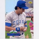 1993 Upper Deck Baseball On Deck #D07 Jose Canseco - Texas Rangers