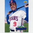 1993 Upper Deck Baseball On Deck #D03 Carlos Baerga - Cleveland Indians