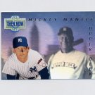 1993 Upper Deck Baseball Then And Now #TN17 Mickey Mantle - New York Yankees