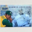 1993 Upper Deck Baseball Then And Now #TN16 Reggie Jackson - Oakland A's
