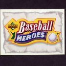 1993 Upper Deck Baseball Mays Heroes #NNO Baseball Heroes Header SP
