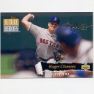1993 Upper Deck Baseball Future Heroes #57 Roger Clemens - Boston Red Sox