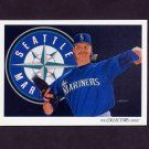 1993 Upper Deck Baseball #824 Seattle Mariners Team Checklist / Randy Johnson