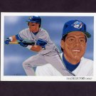 1993 Upper Deck Baseball #815 Toronto Blue Jays Team Checklist / Roberto Alomar