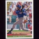1993 Upper Deck Baseball #777 Andre Dawson - Boston Red Sox