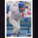 1993 Upper Deck Baseball #656 Julio Franco - Texas Rangers