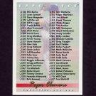 1993 Upper Deck Baseball #630 Roger Clemens / Checklist 526-630