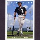 1993 Upper Deck Baseball #597 Tim Raines - Chicago White Sox