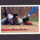 1993 Upper Deck Baseball #596 Brian Jordan - St. Louis Cardinals