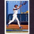 1993 Upper Deck Baseball #595 Eric Davis - Los Angeles Dodgers