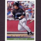 1993 Upper Deck Baseball #593 Andres Galarraga - Colorado Rockies