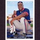 1993 Upper Deck Baseball #586 Albert Belle - Cleveland Indians