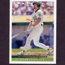 1993 Upper Deck Baseball #566 Mark McGwire - Oakland A's