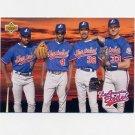 1993 Upper Deck Baseball #481 Marquis Grissom / Delino DeShields / Dennis Martinez / Larry Walker