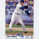 1993 Upper Deck Baseball #451 Jim Abbott IN - New York Yankees