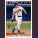 1993 Upper Deck Baseball #376 Ryan Klesko - Atlanta Braves