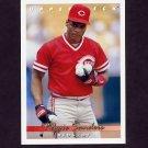 1993 Upper Deck Baseball #354 Reggie Sanders - Cincinnati Reds