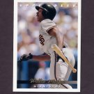 1993 Upper Deck Baseball #281 Willie McGee - San Francisco Giants