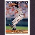 1993 Upper Deck Baseball #080 Rick Sutcliffe - Baltimore Orioles