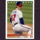 1993 Upper Deck Baseball #075 Tom Glavine - Atlanta Braves