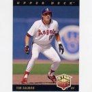 1993 Upper Deck Baseball #025 Tim Salmon - California Angels