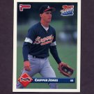 1993 Donruss Baseball #721 Chipper Jones - Atlanta Braves