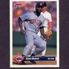 1993 Donruss Baseball #679 Chili Davis - Minnesota Twins