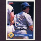 1993 Donruss Baseball #545 B.J. Surhoff - Milwaukee Brewers