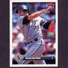 1993 Donruss Baseball #519 Carlton Fisk - Chicago White Sox