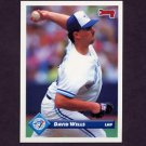 1993 Donruss Baseball #511 David Wells - Toronto Blue Jays