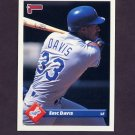 1993 Donruss Baseball #482 Eric Davis - Los Angeles Dodgers