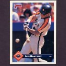 1993 Donruss Baseball #404 Luis Gonzalez - Houston Astros
