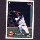 1993 Donruss Baseball #355 Willie McGee - San Francisco Giants