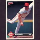 1993 Donruss Baseball #322 Rob Dibble - Cincinnati Reds
