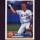 1993 Donruss Baseball #302 Jeff Kent - New York Mets
