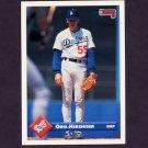 1993 Donruss Baseball #274 Orel Hershiser - Los Angeles Dodgers